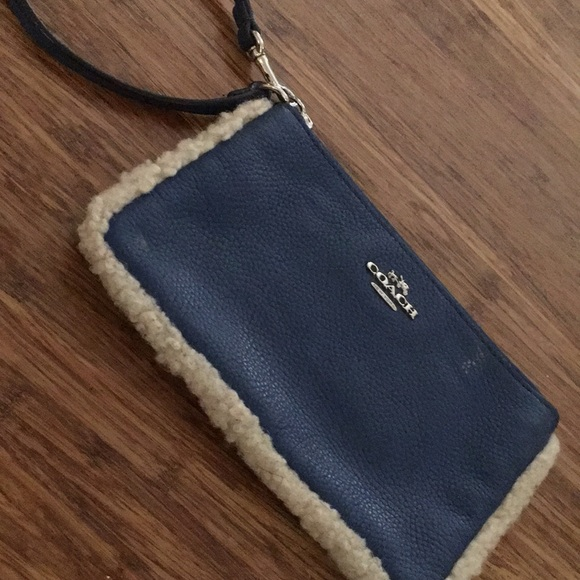 Coach Handbags - Coach - Leather Wristlet